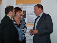 Výstava byla podnětem pro mnohé rozhovory.