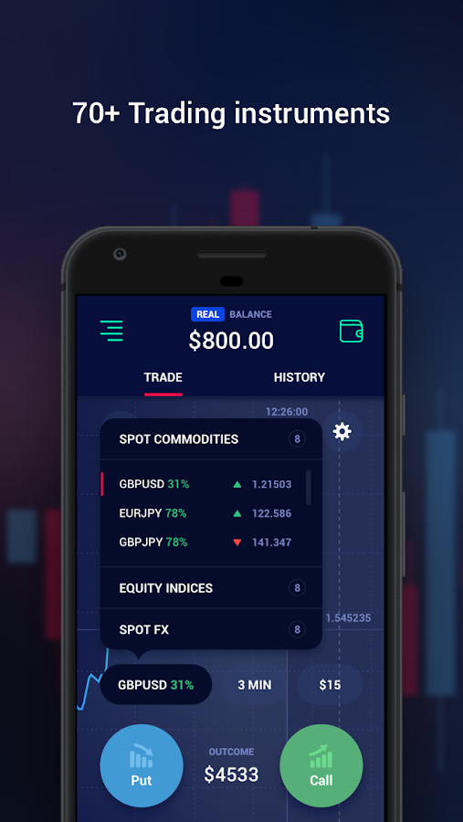Binary options Ayrex- screenshot