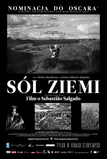 Przód ulotki filmu 'Sól Ziemi'