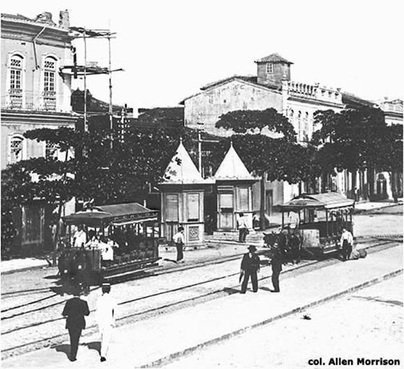 Bondinho de Belém a trazione animale - Belém do Parà, collezione: Allen Morrison