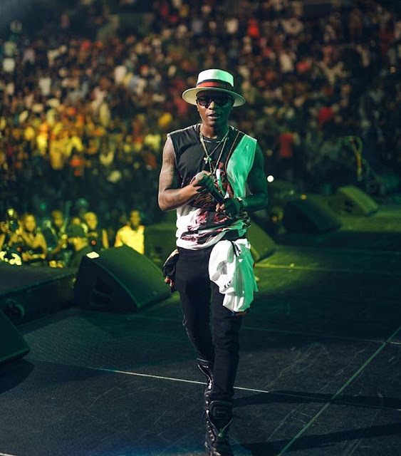 Wizkid Wins Best African Act At The 2016 MOBO Awards.