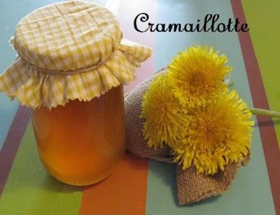 recette de la cramaillotte ou confiture de pissenlits