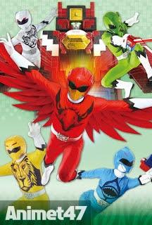Doubutsu Sentai Zyuohger - Chiến Đội Thú Vương 2016 Poster
