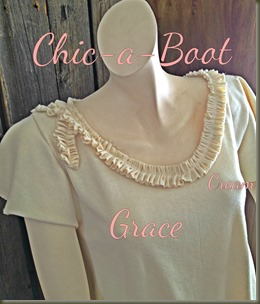 Grace Top in Cream 3