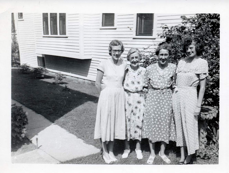 Barbara Beck, Aunt Amelia, Aunt Pearl,