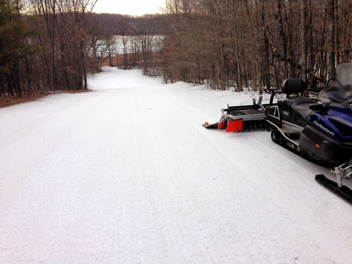 Grooming Suicide hill Wednesday morning. Most likely the last grooming run of the year!