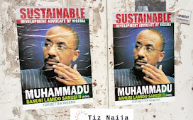 Outrage as Senusi Lamido Senusi Campaign posters spotted on the streets of Abuja
