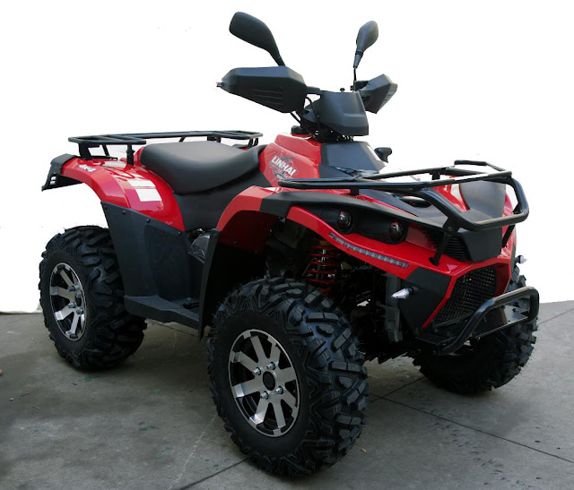 500cc Linhai Yamaha Farm Quad Bike ATV 4x4 Red