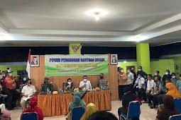 Kapolres Bersama Forkopimda Kabupaten Lumajang Mendampingi Kegiatan Menteri Sosial RI Dalam Rangka Menanggapi Aduan Masyarakat