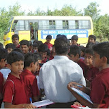 8th Class Students of Santosh Nagar Branch on Bio Diversity watch