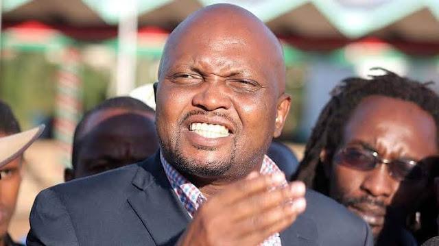 Moses Kuria and his Tangatanga brigade, PHOTO   BMS