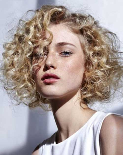 Latest Ideas For Short Curly Hair 2018 Curly Haircuts Page 2 Of