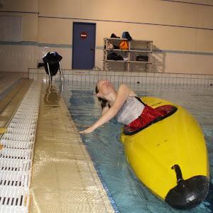 Esquimautage à la piscine de Voiron