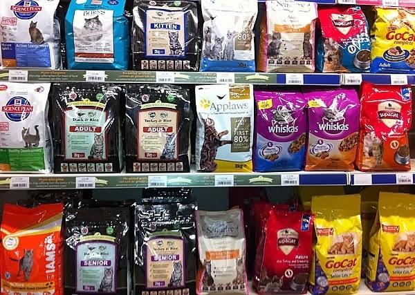 как правильно выбрать кошачий корм
