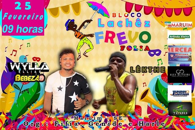 Lachez Frevo Folia acontece na terça-feira de carnaval