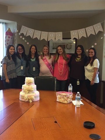 They Pulled Off The Cutest Shower The HR Conference Room Has Ever Seen :)  Maddie Jane Is One Lucky Little Girl To Have Some West Coast Aunties To  Love On ...