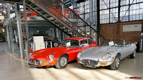 Jaguar E-Type Coupe and Convertible