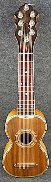 Carl Larsen Maurer Concert taropatch ukulele