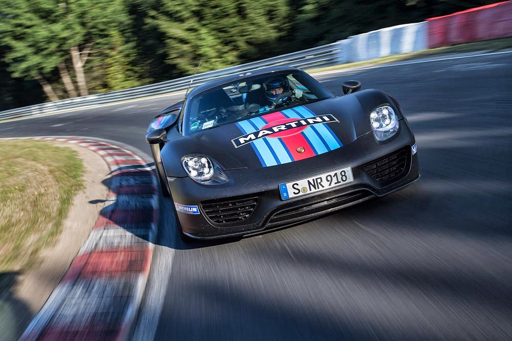 Porsche 918 Spyder Nurburgring Record 2