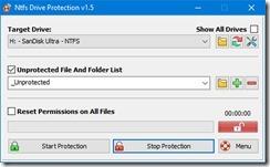 برنامج مكافحة الفيروسات للفلاشات ال usb driver NTFS Drive Protection -4