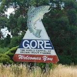 Gore, New Zealand, the brown trout capital of the world.