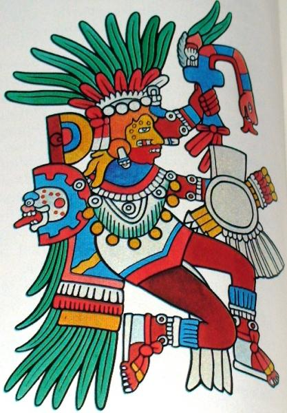 Tonatiuh, Gods And Goddesses 6