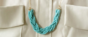 Eighteenth Century Agrarian Business Diy Braided Bead Necklace - Diy braided necklace