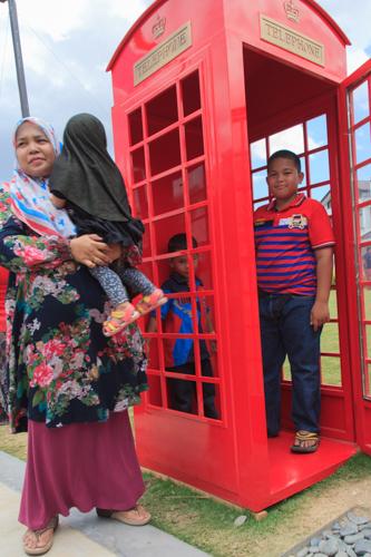 pondok telefon merah london