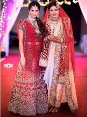 Sania Mirza-Sister-Wedding-Outfits-Mystylespots