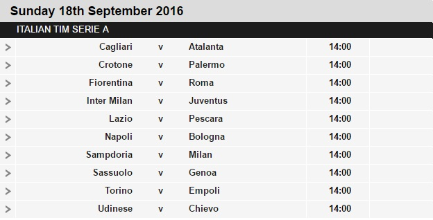 Serie%2BA%2Bschedule%2B4 Planning a Football Trip to Italy - SERIE A FIXTURES 2016/17