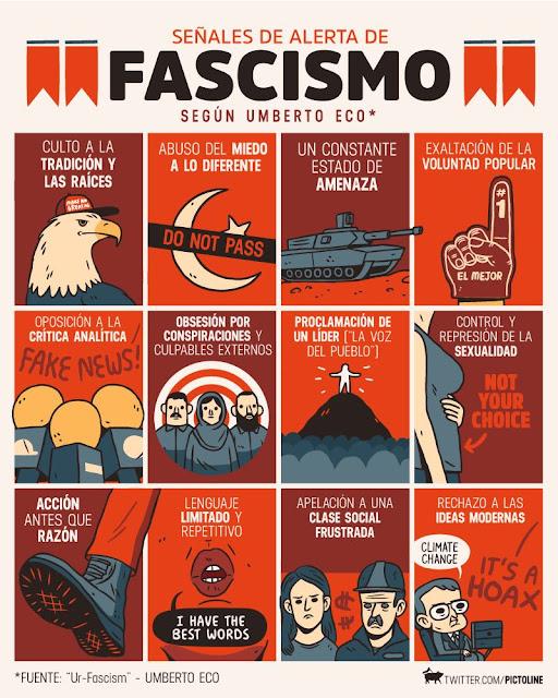 Image result for umberto eco contra el fascismo