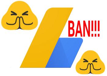 got banned on google adsense for invalid clicks