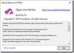 我的學習手記 A technical geek blog: When using the Open Live Writer