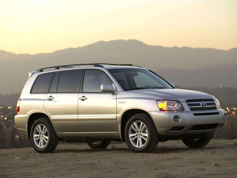 Lovely 2005 Toyota Highlander Hybrid 00001 ...