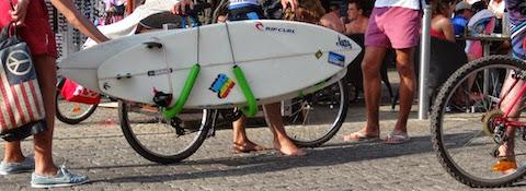 Vélo Porte Surf - Lacanau