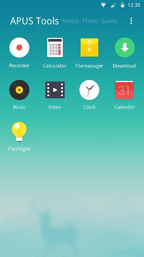 Dawn theme for APUS Launcher screenshot 3