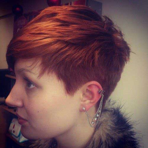 15+simple red pixie hair 2016 2017