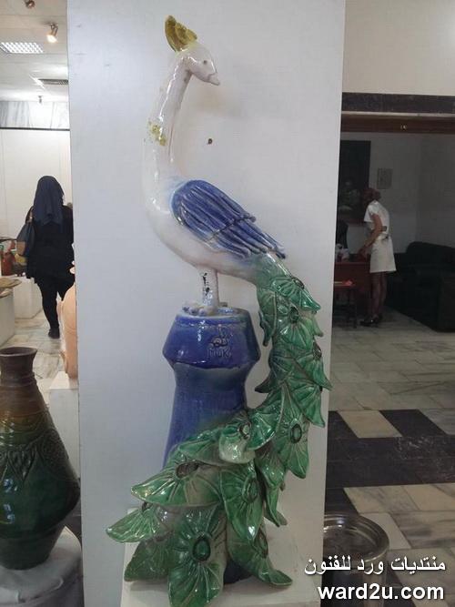 معرض طلبة الخزف كلية الفنون جامعة بغداد 2015