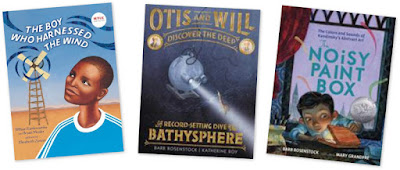 A set of three picture book biographies