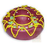 12. kép: Céges torták - Sombrero alakú torta