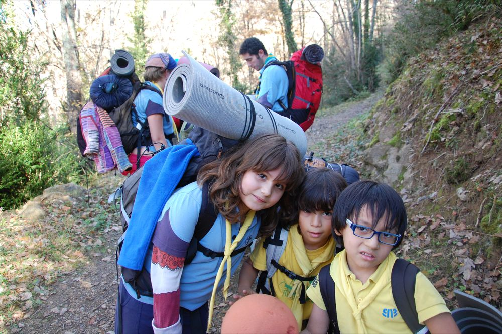 Sortida Castors i Llops a la Roca del Secut 2010 - DSC_0705.JPG