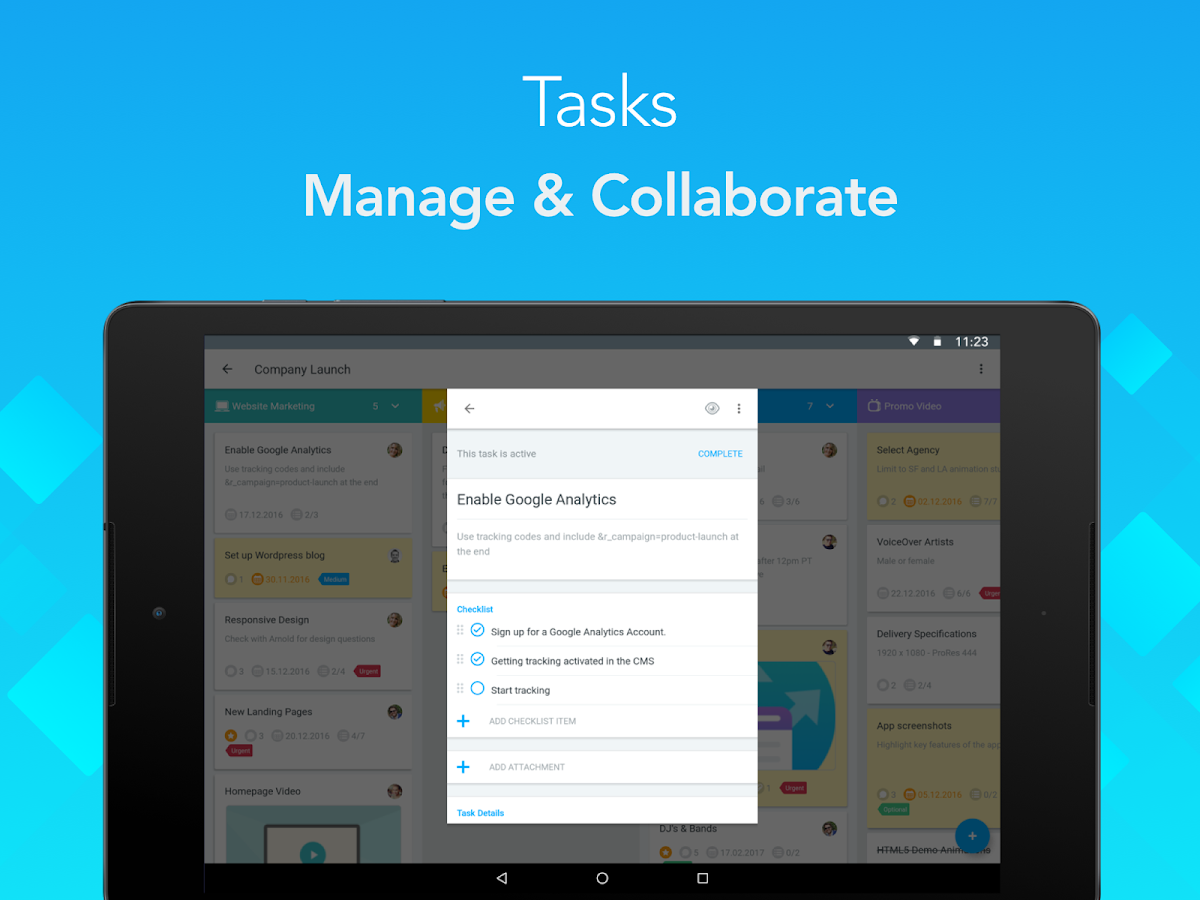MeisterTask - Task Management- screenshot