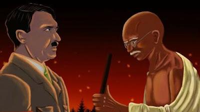 CATATAN SEJARAH; Belajar dari Hitler dan Mahatma Gandhi