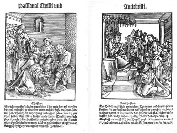 Passional Christi und Antichristi - Lucas Cranach (May 1521)