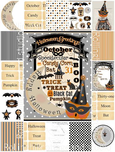 Pumpkin Party Digital Kit
