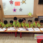 Star day Celebrated by Nursery Afternoon Section at Witty World, Chikoowadi (2017-18)