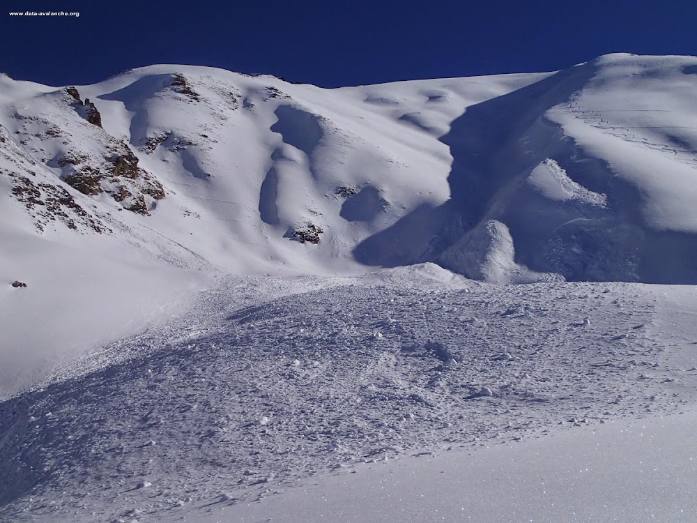 Avalanche Mont Thabor, secteur Belle Plinier, MontRond - Photo 1