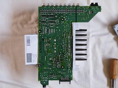 SONY DHC-MD77のアンプの基盤