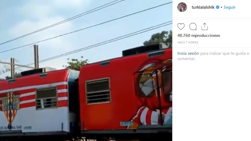 El tren... del Almería.