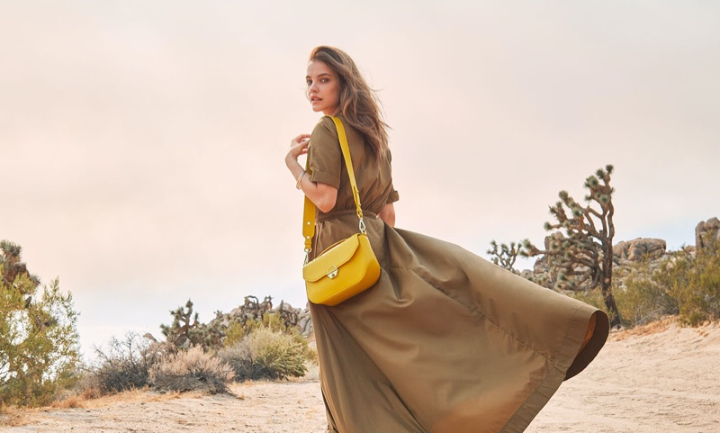 Lancaster's Delphino bag stands out in its spring-summer 2021 campaign.
